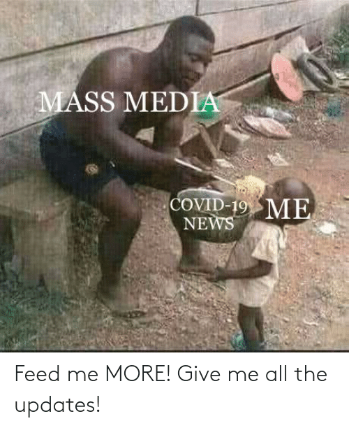 feed me: Feed me MORE! Give me all the updates!