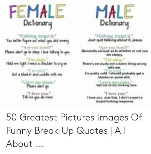 FEMALE MALE Dictionary Dictionary Nothing Nothing Forpet It ...