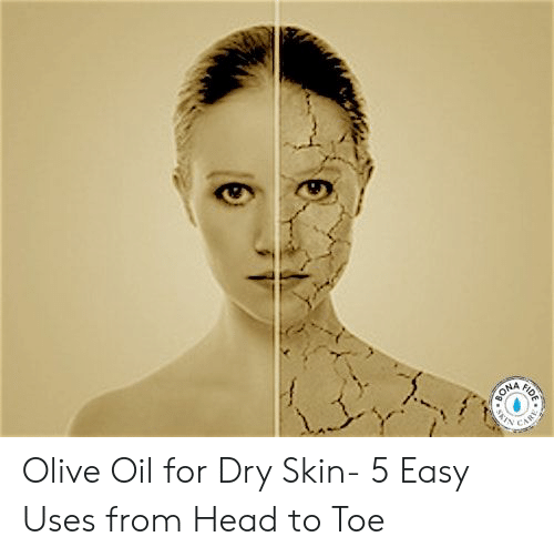 fid: FID  BONA  N  CAR Olive Oil for Dry Skin- 5 Easy Uses from Head to Toe