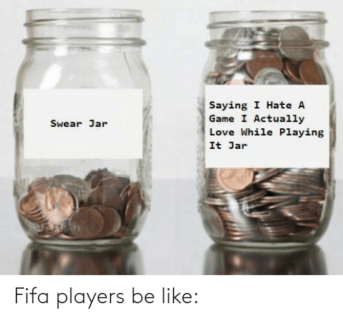 players: Fifa players be like: