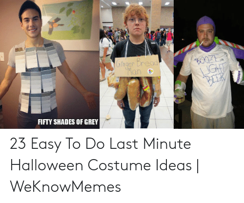 Fifty Shades of Grey, Halloween, and Grey: FIFTY SHADES OF GREY 23 Easy To Do Last Minute Halloween Costume Ideas | WeKnowMemes