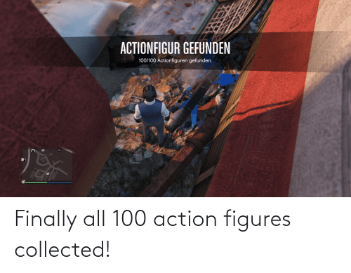 figures: Finally all 100 action figures collected!