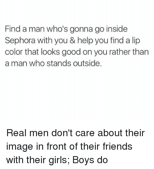 Real Men Dont