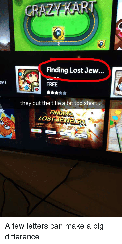 Funny, Lost, and Free: Finding Lost Jew...  se)  FREE  they cut the title a bit too short  FINDING  Los  LOST ENELE