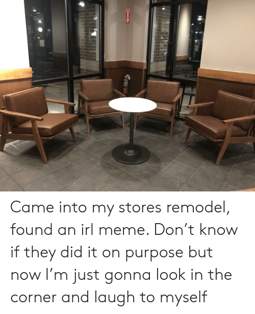 Irl Meme: FIR  EXTINCUSNER Came into my stores remodel, found an irl meme. Don't know if they did it on purpose but now I'm just gonna look in the corner and laugh to myself