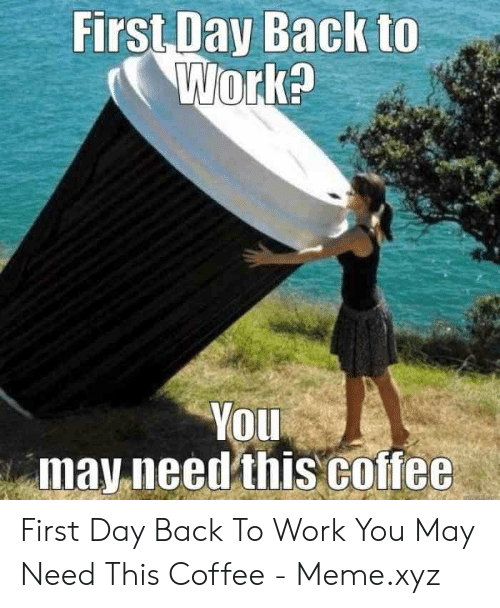 🐣 25+ Best Memes About First Day Back to Work | First Day
