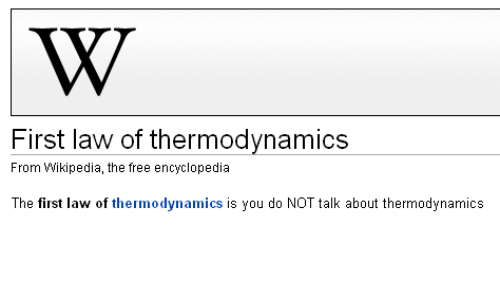 first law of thermodynamics wikipedia the free encyclopedia