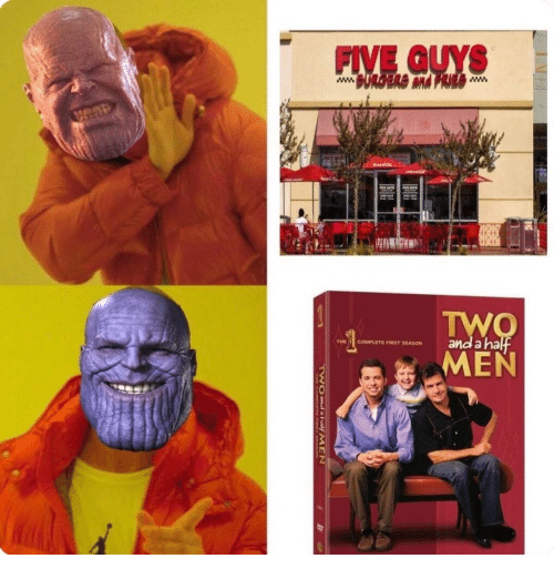 five guys: FIVE GUYS  THI , COMPLETE F'RST SEASON  and anal  MEN