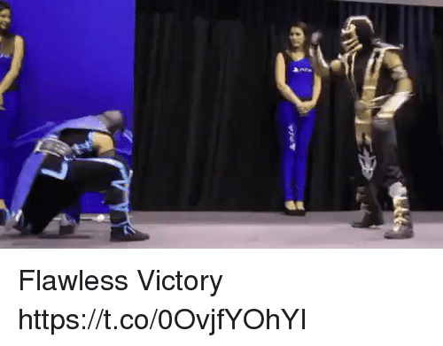 flawless: Flawless Victory https://t.co/0OvjfYOhYI