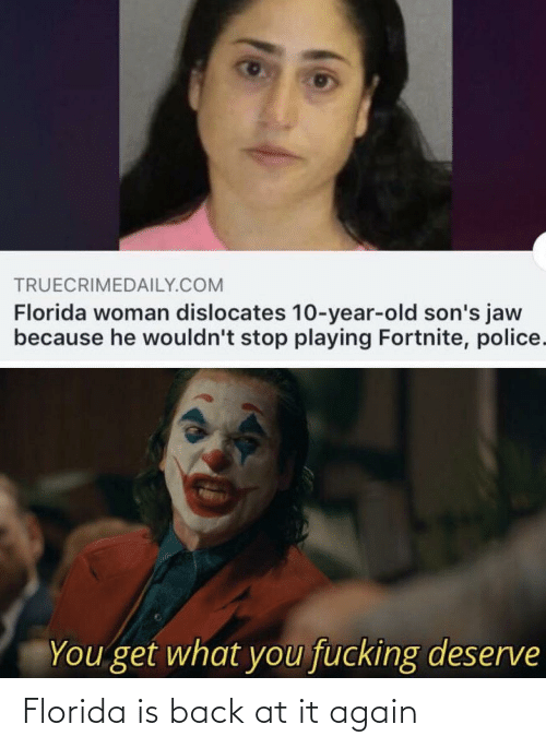 Back at It Again: Florida is back at it again