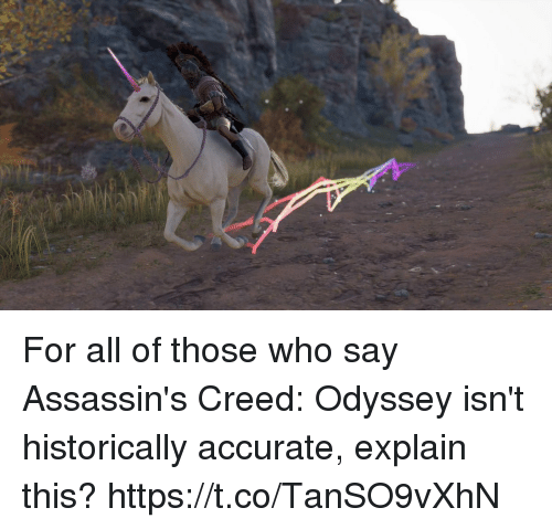 odyssey: For all of those who say Assassin's Creed: Odyssey isn't historically accurate, explain this? https://t.co/TanSO9vXhN