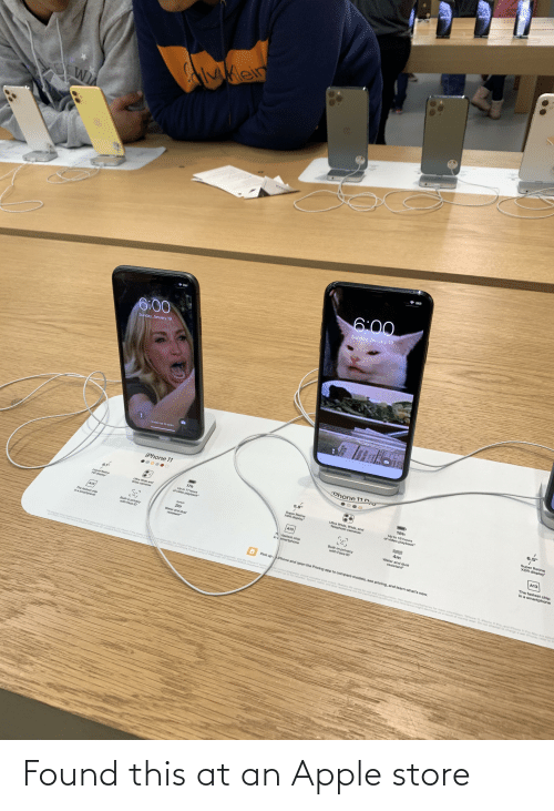Apple Store: Found this at an Apple store