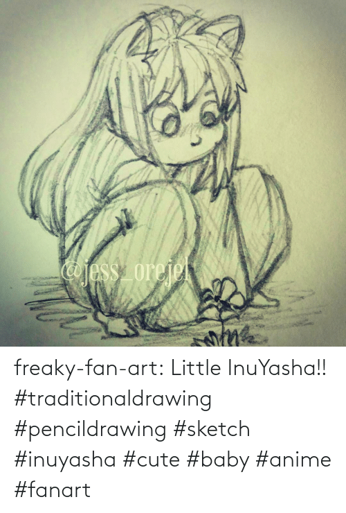 cute baby: freaky-fan-art: Little InuYasha!! #traditionaldrawing #pencildrawing #sketch #inuyasha #cute #baby #anime #fanart
