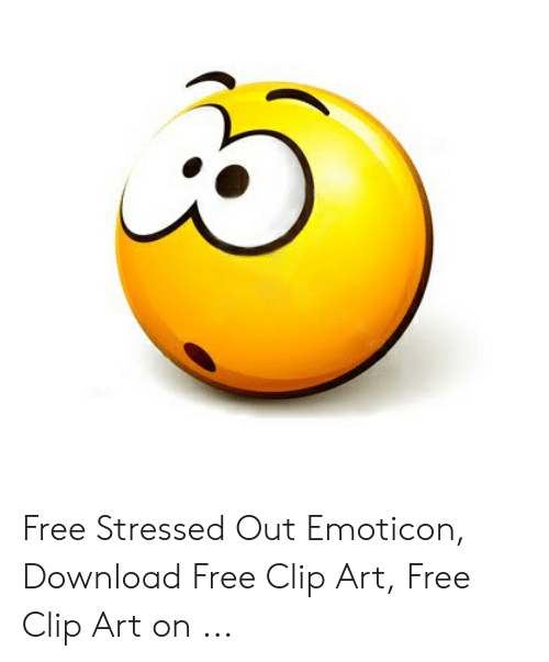 Free Stressed Out Emoticon Download Free Clip Art Free Clip