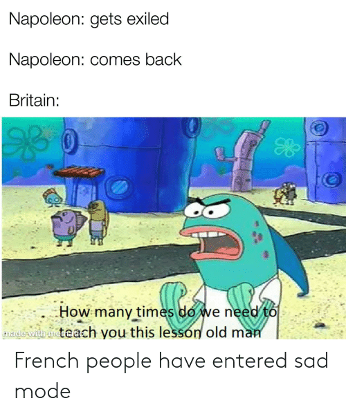 French People: French people have entered sad mode