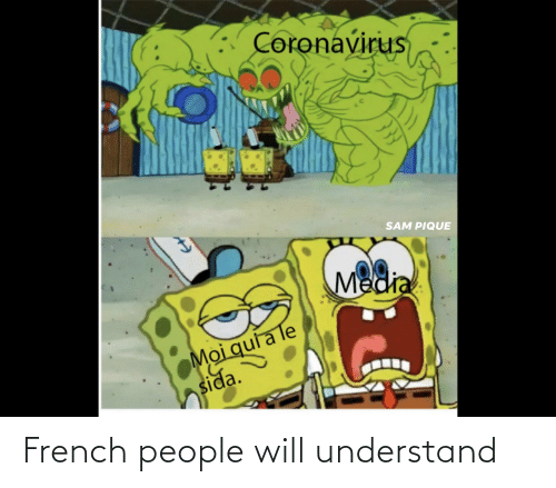 French People: French people will understand