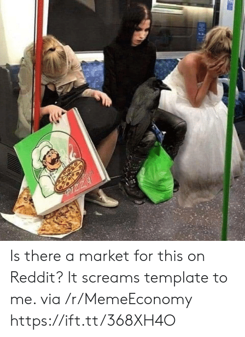 Fresh, Pizza, and Reddit: Fresh  PIZZA Is there a market for this on Reddit? It screams template to me. via /r/MemeEconomy https://ift.tt/368XH4O