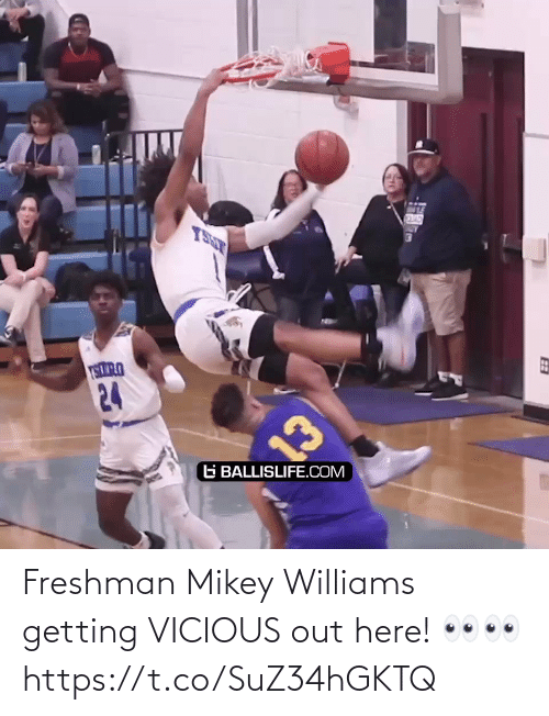 Vicious: Freshman Mikey Williams getting VICIOUS out here! 👀👀 https://t.co/SuZ34hGKTQ