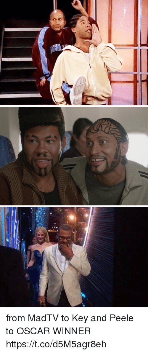 Funny, Key and Peele, and Oscar: from MadTV to Key and Peele to OSCAR WINNER https://t.co/d5M5agr8eh