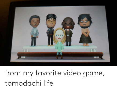 video game: from my favorite video game, tomodachi life