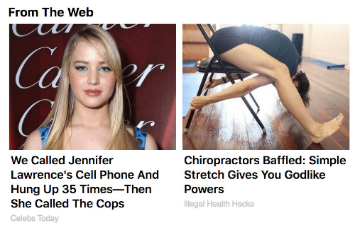 Phone, Today, and Godlike: From The Web  Ca  We Called Jennifer  Lawrence's Cell Phone AndStretch Gives You Godlike  Hung Up 35 Times-Then  She Called The Cops  Celebs Today  Chiropractors Baffled: Simple  Powers  Illegal Health Hacks