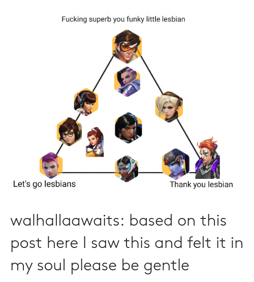Hank: Fucking superb you funky little lesbian  Let's go lesbians  hank you lesbian walhallaawaits:  based on this post here I saw this and felt it in my soul please be gentle