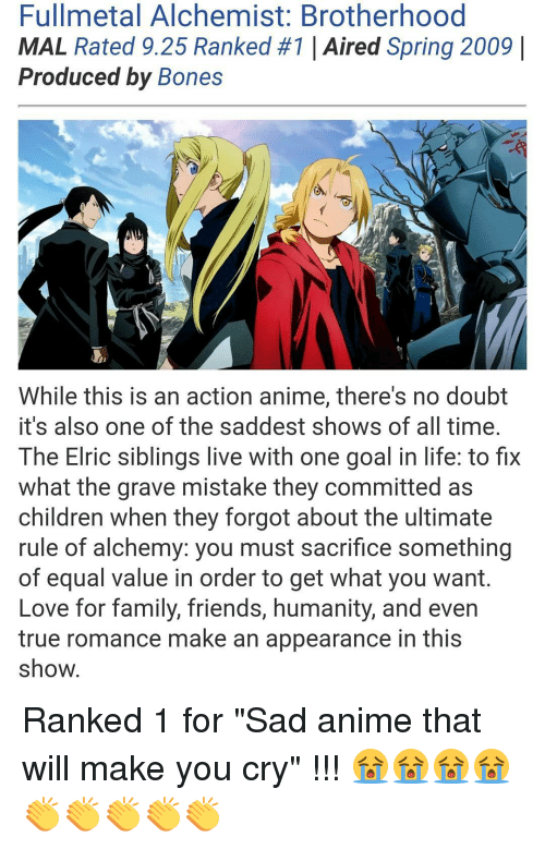 Anime That Will Make You Cry