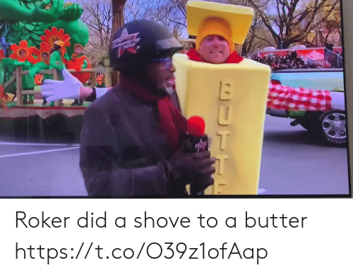Butter: fUTTC Roker did a shove to a butter https://t.co/O39z1ofAap