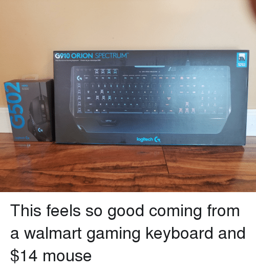 edf326660f4 Walmart, Good, and Keyboard: G910 ORION SPECTRUM RGB Mechanical Gaming  Keyboard Clavier de. Share via Message
