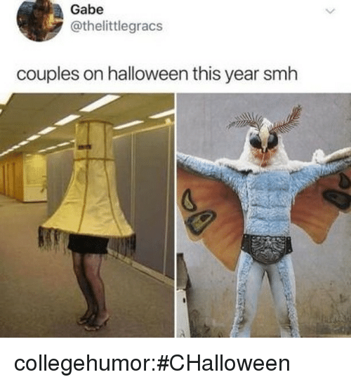 Halloween, Smh, and Target: Gabe  @thelittlegracs  couples on halloween this year smh collegehumor:#CHalloween