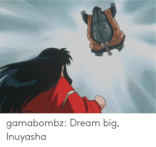 dream: gamabombz:  Dream big, Inuyasha