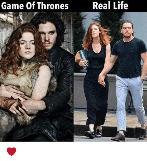 games of thrones: Game of Thrones  Real Life ❤