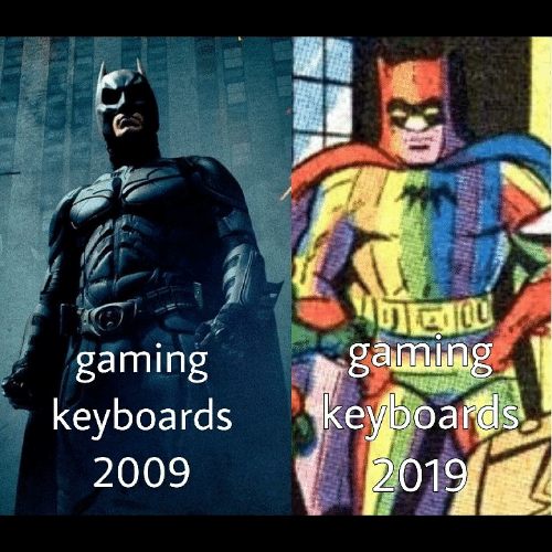 Gaming and Keyboards: gaming  gaming  keyboards keyboards  2009  2019