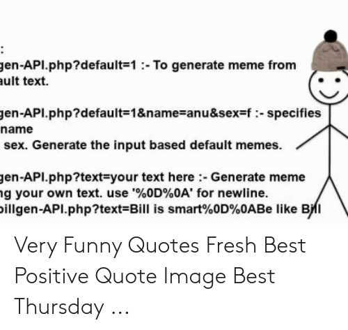 Gen API default 1 To Generate Meme From Ult Text Gen