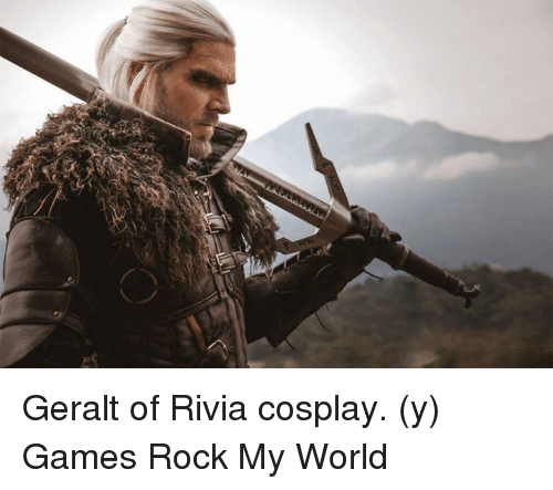 25 Best Memes About Geralt Of Rivia Cosplay Geralt Of