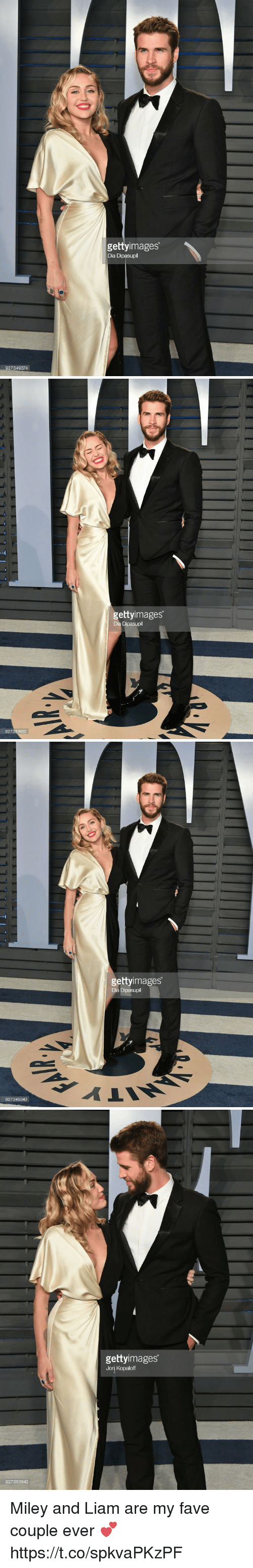 Miley Cyrus, Fave, and Girl Memes: gettyimages  Dia  927349374   gettyimages  927359632   gettyimages  Dia  927349340   gettyimages  Jon Kopaloff  927353640 Miley and Liam are my fave couple ever 💕 https://t.co/spkvaPKzPF