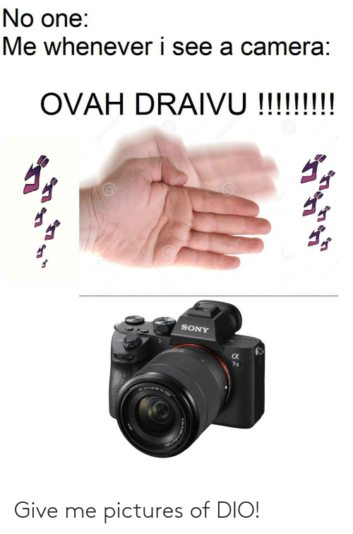 give me: Give me pictures of DIO!