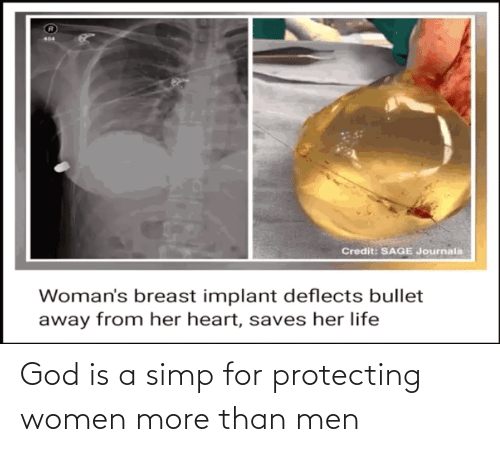 protecting: God is a simp for protecting women more than men