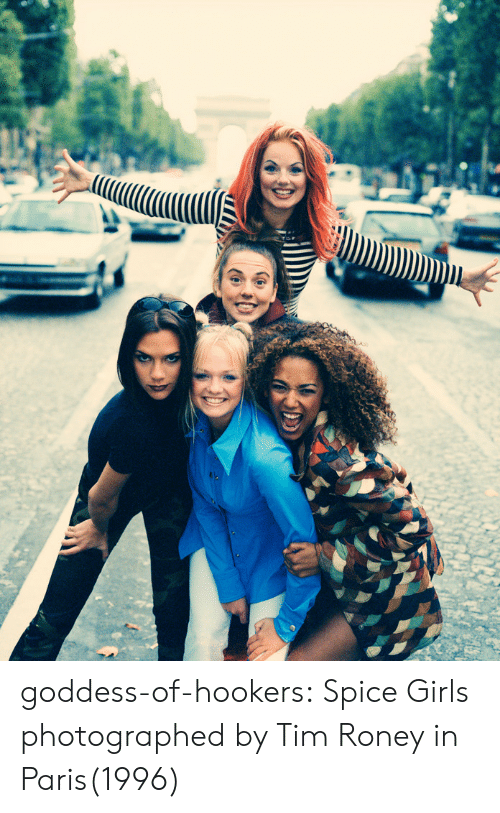 Spice Girls: goddess-of-hookers:    Spice Girls photographed by Tim Roney in Paris(1996)