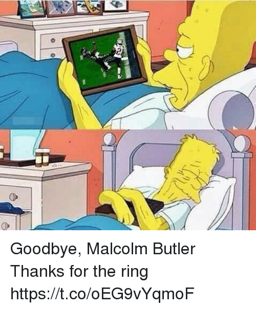Tom Brady, The Ring, and Butler: Goodbye, Malcolm Butler   Thanks for the ring https://t.co/oEG9vYqmoF
