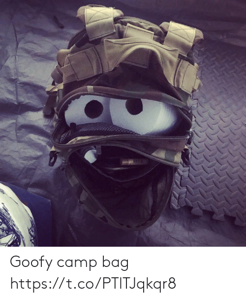 Faces-In-Things, Goofy, and Camp: Goofy camp bag https://t.co/PTlTJqkqr8
