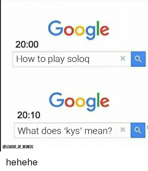 What does kys stand for