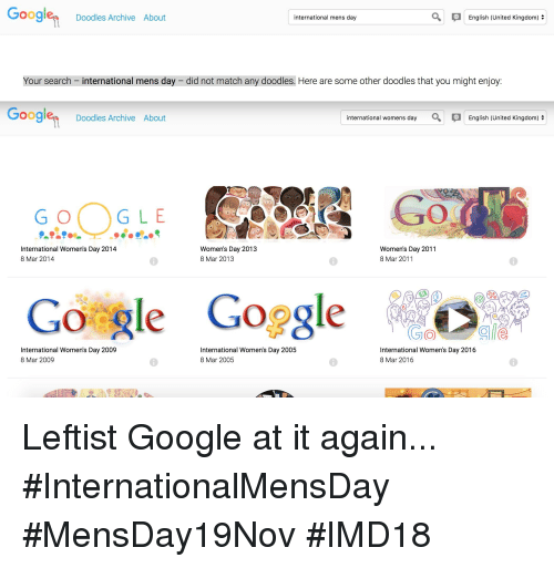 288a17f17ac1b Google Doodles Archive About International Mens Day English United ...