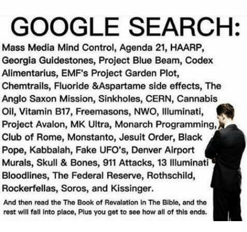 GOOGLE SEARCH Mass Media Mind Control Agenda 21 HAARP