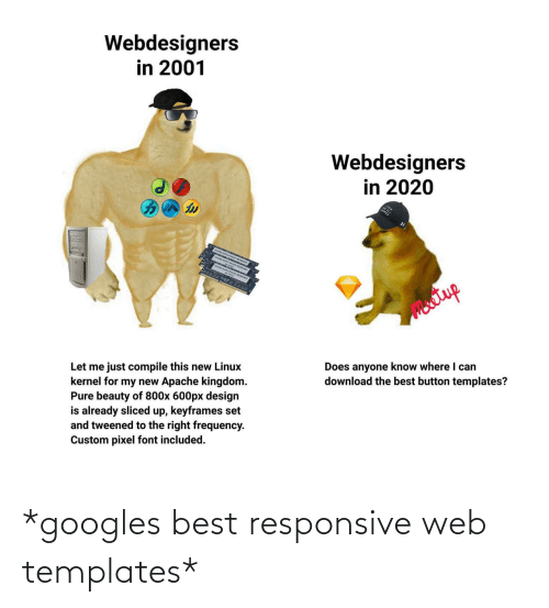 templates: *googles best responsive web templates*