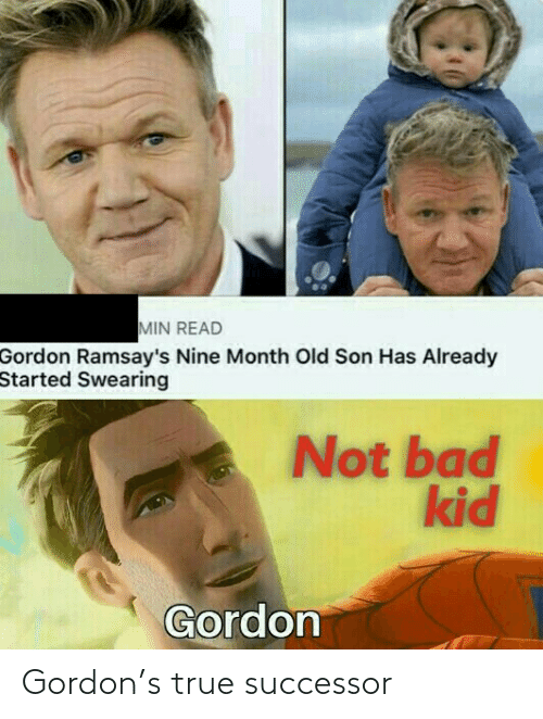 Gordon: Gordon's true successor