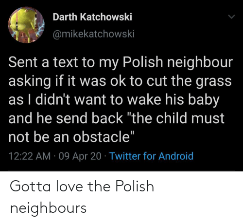 polish: Gotta love the Polish neighbours