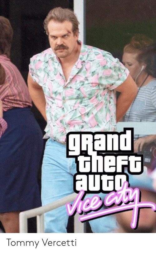 grand theft: gRand  theFt  auto  ice Cry Tommy Vercetti