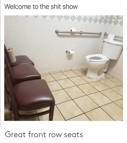 Front: Great front row seats