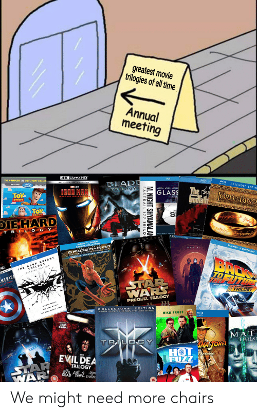 Greatest Movie Trilogies of All Time Annual Meeting 4K ULTRAHD BLADE